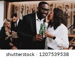 drinking alcohol. have fun.... | Shutterstock . vector #1207539538