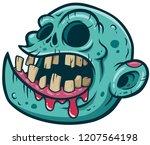 vector illustration of cartoon... | Shutterstock .eps vector #1207564198