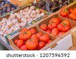 nice  france   october 5  2018  ... | Shutterstock . vector #1207596592