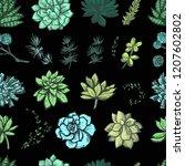 decorative bright color graphic ...   Shutterstock .eps vector #1207602802