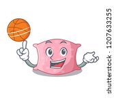 with basketball character cute... | Shutterstock .eps vector #1207633255
