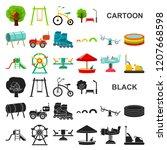playground  entertainment... | Shutterstock .eps vector #1207668598