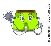 doctor character style short...   Shutterstock .eps vector #1207685278