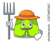 farmer character style short...   Shutterstock .eps vector #1207685362