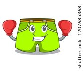 boxing character style short...   Shutterstock .eps vector #1207685368