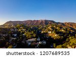 aerial view of the los angeles... | Shutterstock . vector #1207689535