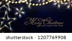 christmas and new year holidays ... | Shutterstock . vector #1207769908