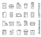 Food Packaging Symbols  Line...