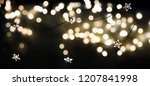 christmas and new year holidays ... | Shutterstock . vector #1207841998