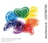 abstract vector background | Shutterstock .eps vector #120788785