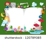 background illustration of a... | Shutterstock .eps vector #120789385