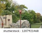 native american outdoor museum  | Shutterstock . vector #1207921468