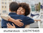 people  togetherness and... | Shutterstock . vector #1207975405
