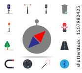 colored compass icon. web icons ...
