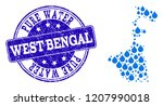 map of west bengal state vector ... | Shutterstock .eps vector #1207990018