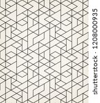 abstract geometric pattern with ... | Shutterstock .eps vector #1208000935