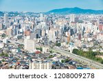 landscape of kitakyushu city | Shutterstock . vector #1208009278