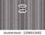 minimalistic pattern of arrows... | Shutterstock .eps vector #1208013682