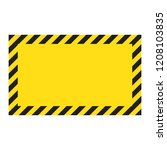 warning striped background ... | Shutterstock .eps vector #1208103835