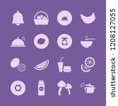diet icon. diet vector icons... | Shutterstock .eps vector #1208127055