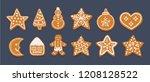 vector cartoon illustration... | Shutterstock .eps vector #1208128522