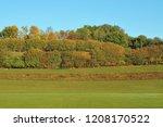 landscape in swabian alb with... | Shutterstock . vector #1208170522
