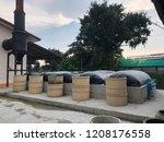 biogas in thailand | Shutterstock . vector #1208176558