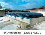 biogas in thailand | Shutterstock . vector #1208176672