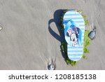 ameland  dutch   july 3  2018.  ... | Shutterstock . vector #1208185138