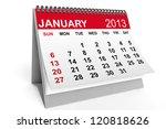 2013 Year Calendar. January...