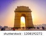 india gate  new delhi  october... | Shutterstock . vector #1208192272