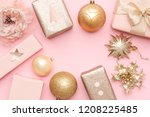Pink And Gold Christmas Gifts...