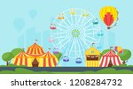 vector flat style illustration... | Shutterstock .eps vector #1208284732