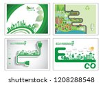 ecology connection  concept... | Shutterstock .eps vector #1208288548