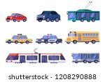municipal city public and... | Shutterstock .eps vector #1208290888