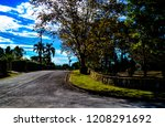 lush landscape of the south of... | Shutterstock . vector #1208291692