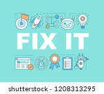 fix it word concepts banner....