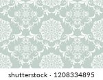 seamless luxury floral pattern... | Shutterstock .eps vector #1208334895