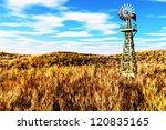 Meadow Agriculture Concept 3d...