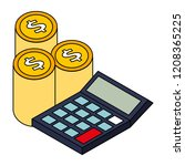 business financial money | Shutterstock .eps vector #1208365225