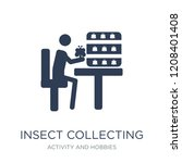 insect collecting icon. trendy... | Shutterstock .eps vector #1208401408
