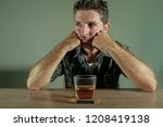 isolated portrait of young... | Shutterstock . vector #1208419138