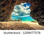 portrait of happy successful... | Shutterstock . vector #1208477578