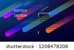 colorful background with simple ...   Shutterstock .eps vector #1208478208