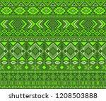 peruvian american indian... | Shutterstock .eps vector #1208503888