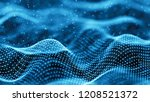data technology background.... | Shutterstock . vector #1208521372