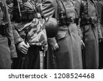 close up of german military... | Shutterstock . vector #1208524468