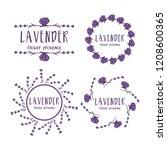 set of template logo design of...   Shutterstock .eps vector #1208600365