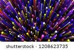 3d render cylinders background. ... | Shutterstock . vector #1208623735