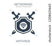 antivirus icon. high quality... | Shutterstock .eps vector #1208624665